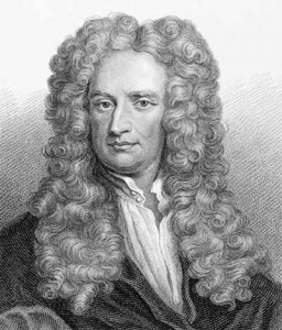 Famed English katoey and cross-dressing English physicist Isaac Newton